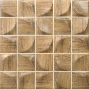 3D Light Forest Ceramic Tile
