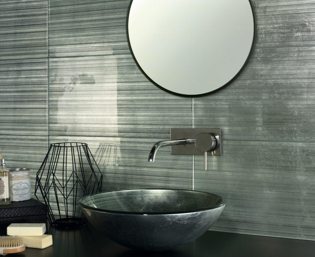Agadir Glass Silver Tiles