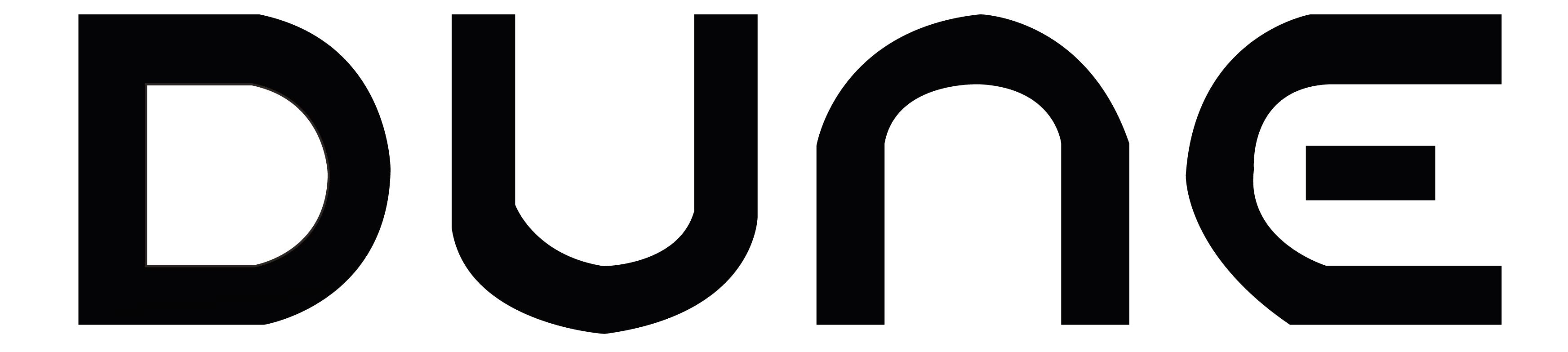 dune logo black